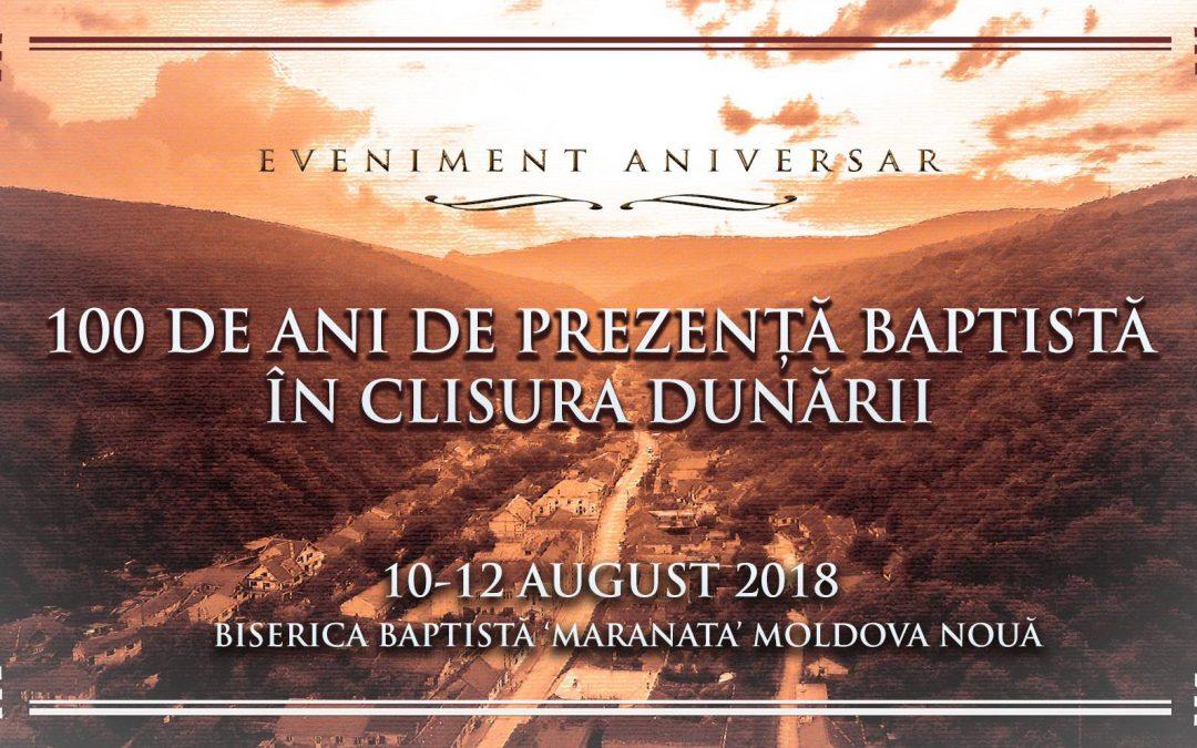 100 de ani de mărturie baptistă în Clisura Dunării